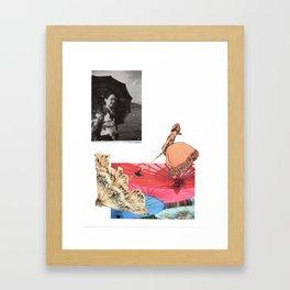 Care your skin Framed Art Print
