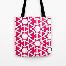 Zoutman Neon Pink Pattern Tote Bag