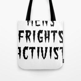 MENS FRIGHTS ACTIVIST (BLACK) Tote Bag