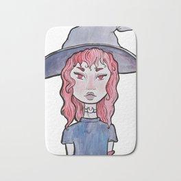 red witch Bath Mat