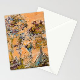 Orange Trees of the Shield Stationery Cards