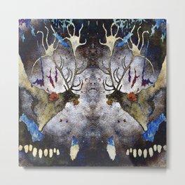 Lascaux Cave Deer IV Metal Print