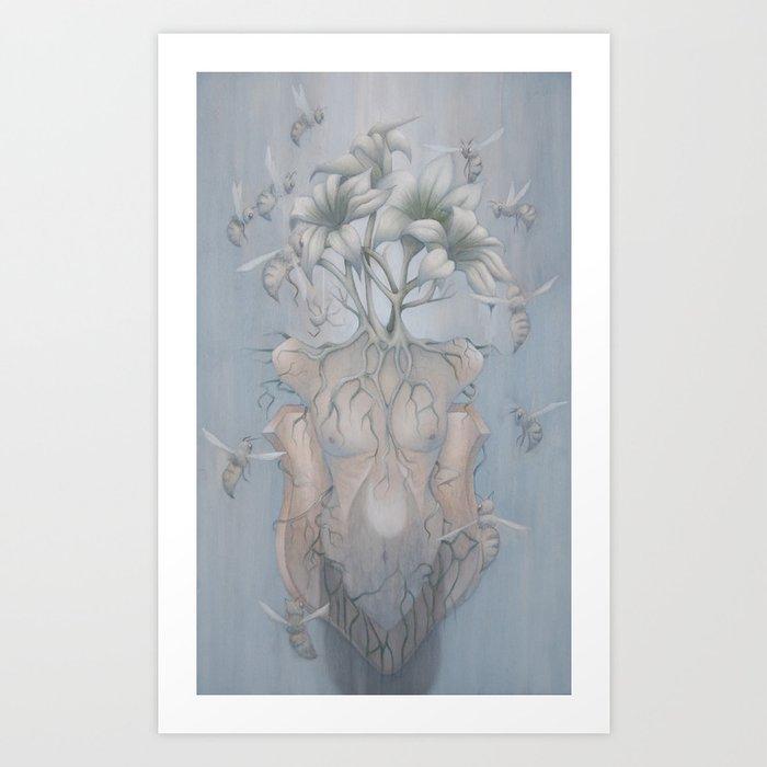 Apiphobia Art Print