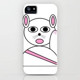 Maneki neko pink version iPhone Case