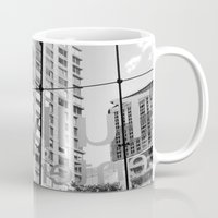 lincoln Mugs featuring Lincoln Center by Emily Werboff