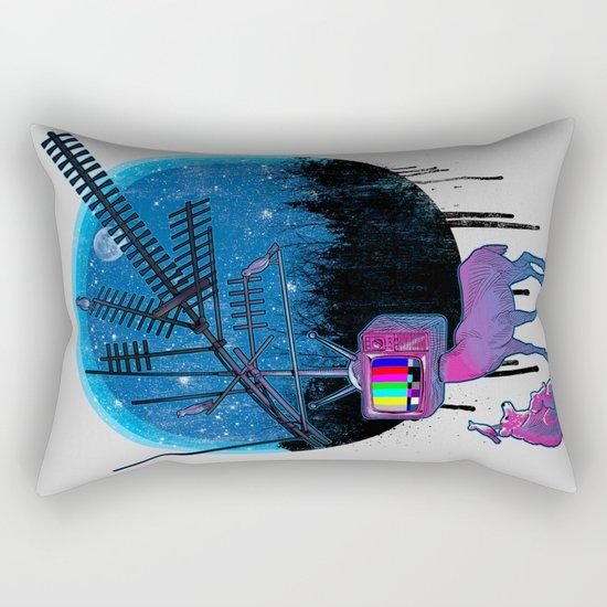 Nature TV Party Rectangular Pillow