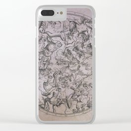 Vintage Constellations & Astrological Signs | Beetroot Paper Clear iPhone Case