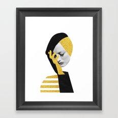 Joan d'or Framed Art Print