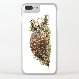 Mr. Turtle Clear iPhone Case