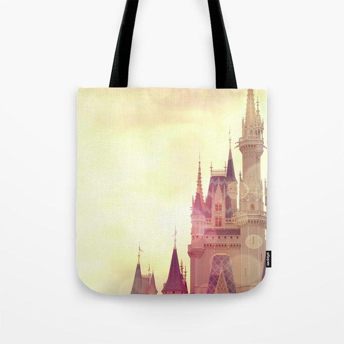 Disney Cinderella Castle Tote Bag