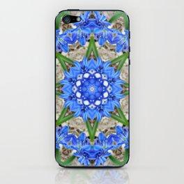 Spring Scilla Kaleidoscope iPhone Skin