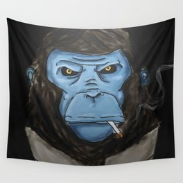 BlueMonkeyinTheSuit Wall Tapestry