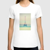 eiffel T-shirts featuring The Eiffel Tower by Metron