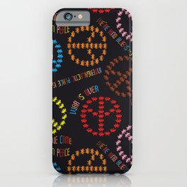 kind Space Invaders iPhone Case