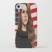 american iPhone & iPod Cases featuring American by Michelle Rosario