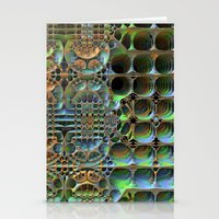honeycomb Stationery Cards featuring Honeycomb by Lyle Hatch