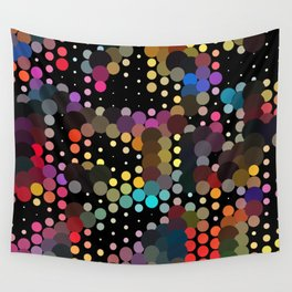 forest of dots Wall Tapestry