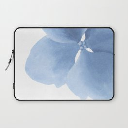 Pansy Flower. Big blue flower Laptop Sleeve
