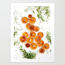 Pure Citrus (Color) Art Print