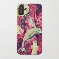 saga iPhone & iPod Cases featuring Galactic Cats Saga 2 by Carolina Nino
