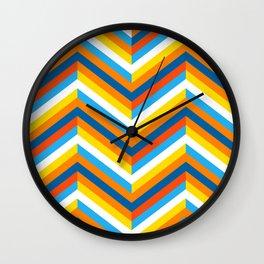 Chevron Wall Clock