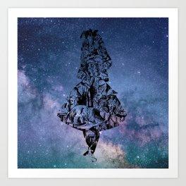 Alice in the Sky Art Print