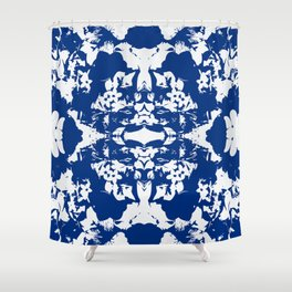 RADIATE | COBALT Shower Curtain