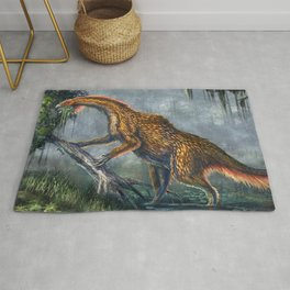 Nothronychus Graffami Restored Rug