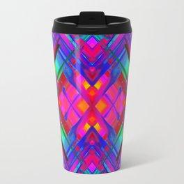 Colorful digital art splashing G483 Travel Mug