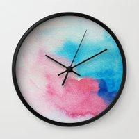nirvana Wall Clocks featuring Nirvana by elena + stephann