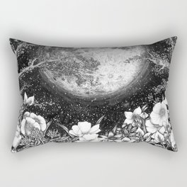 Midnight in the Garden Rectangular Pillow