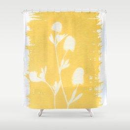 Herbal Sunprint #6 Shower Curtain