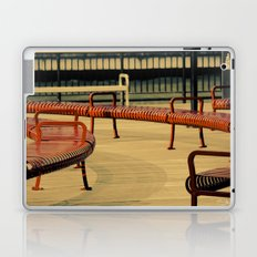 Red Benches Laptop & iPad Skin