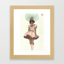Nia Framed Art Print