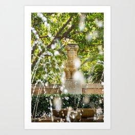Gardens of Almudaina - Mallorca Art Print