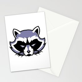 Racoon Guardian Protector Stationery Cards