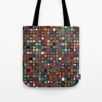 mosaic Tote Bags featuring Mosaic by Lyle Hatch