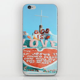 Salvation Mountain iPhone Skin