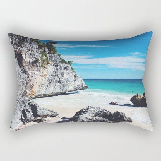 Tulum Mexico Rectangular Pillow