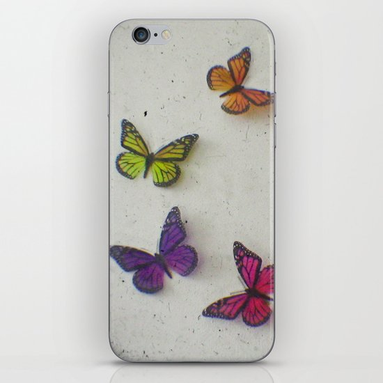Oh to be a Butterfly iPhone & iPod Skin