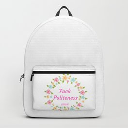 My favorite murder - funny quote Backpack