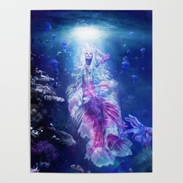 The Mermaid's Encounter Poster
