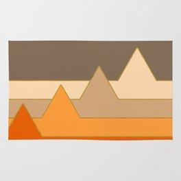 Orange Mountains #society6 #decor #buyart Rug