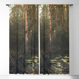 Olympic National Park - Pacific Northwest Nature Photography Blackout Curtain