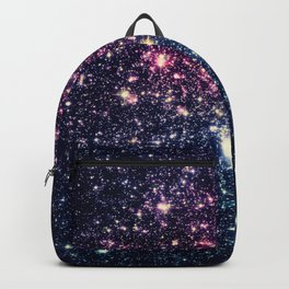 Galaxy Stars : Subtle Purple Mauve Pink Teal Backpack
