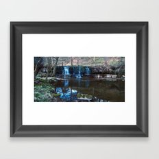 Nidd Falls Framed Art Print