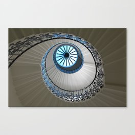 tulip staircase in london Canvas Print