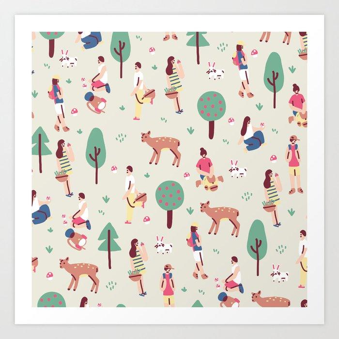 Nature Time Art Print