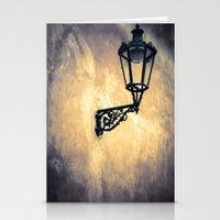lantern Stationery Cards featuring Lantern by Maria Heyens
