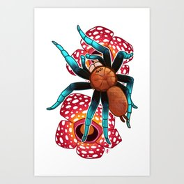 Birupes simoroxigorum Art Print